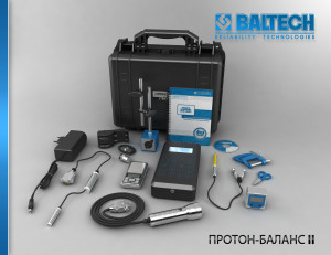 Балансировка и центровка, прибор для балансировки, расчет балансировки, ПРОТОН-Баланс-II