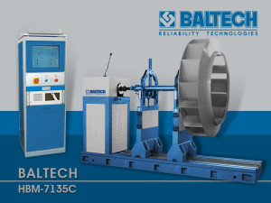 Балансировка и центровка, стенды для балансировки BALTECH HBM-7135C