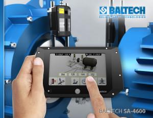 Измерение вибрации, центровка шкивов, балансировка и центровка BALTECH SA-4600