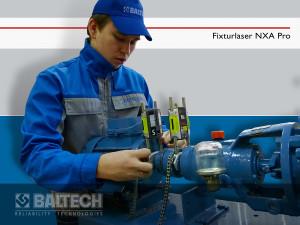 Центровка деталей, ремонт узлов механического оборудования, Fixturlaser NXA Pro Ultimate, Fixturlaser Dirigo+PAT Combo