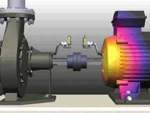 Центровка компрессора, расчет теплового расширения, центровка валов насосов, ремонт компрессоров NXA1201-OL2R