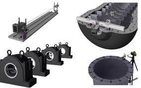 Центровка отверстий, система выверки геометрии, Fixturlaser NXA Bore