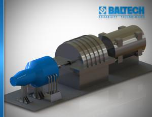 Центровка турбин, центровка проточной части турбин, центровка паровых турбин, центровка газовых турбин, Fixturlaser NXA Bore