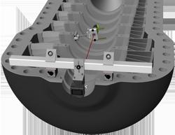 Fixturlaser NXA Bore, центровка турбин, центровка проточной части турбин, центровка паровых турбин, центровка газовых турбин